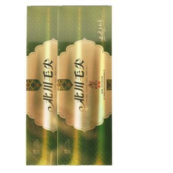 2020新茶上市羌笛绿茶 北川毛尖烟条盒120g