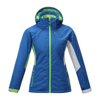 布拉格阿尔派妮AlpinePro女士双板专业蓝色滑雪服LJCD063CN
