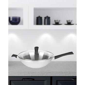 赫曼德(NOLTE)创意厨房礼品精品厨具伯爵三层钢炒锅