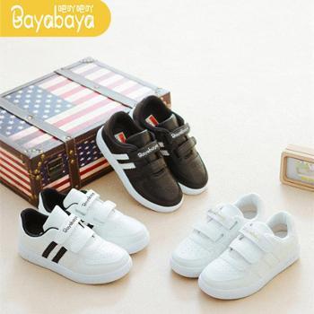 儿童小白鞋童鞋春秋季新款鞋子女童运动鞋韩版白色板鞋男童潮