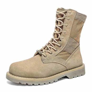 马丁靴男中帮短靴英伦复古潮新款高帮鞋工装雪地军靴沙漠靴子