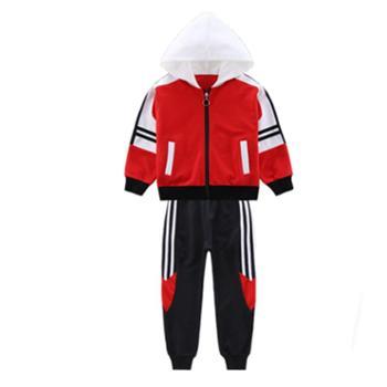童装女套装秋儿童中大童韩版运动休闲洋气两件套