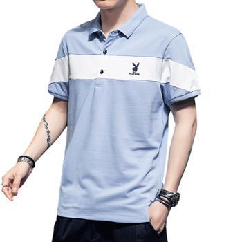 男士短袖t恤潮流夏季修身polo衫男SYPB8571