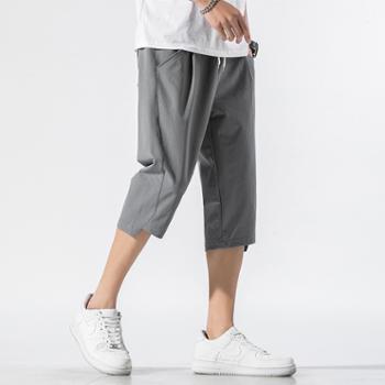 男士运动休闲款七分短裤JC-K165