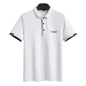 花花公子男士短袖POLO衫潮流半袖T恤上衣男SY8581