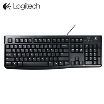 罗技K120有线键盘USB电脑台式笔记本家用办公游戏