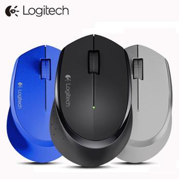 罗技M275 无线鼠标 电脑笔记本USB商务办公光电游戏 更省电