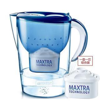 碧然德金典滤水壶3.5L 蓝 单芯装Marella-XL-3.5L-B-GB