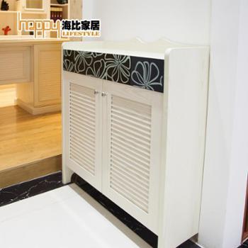 定制 海比家居进门鞋柜 玄关厅柜现代简约创意防尘鞋柜特价 定金