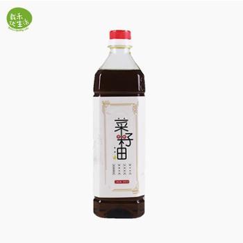 载禾笨榨菜籽油 900ML/瓶