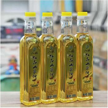 野生红花山茶油 清香型500ml/瓶*4