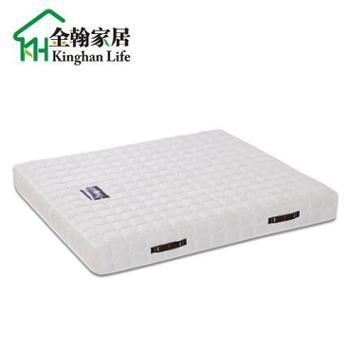 金翰弹簧床垫席梦思床垫子双人弹簧床垫软硬两用护脊