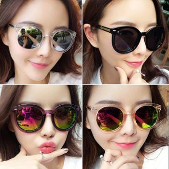 墨镜女潮新款太阳眼镜女防紫外线圆脸眼睛