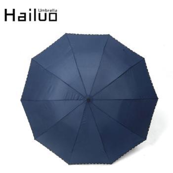 海螺超大折叠伞日本女遮阳伞男士创意晴雨伞