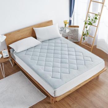 博洋家纺素浅亚麻床垫四季可用18新品