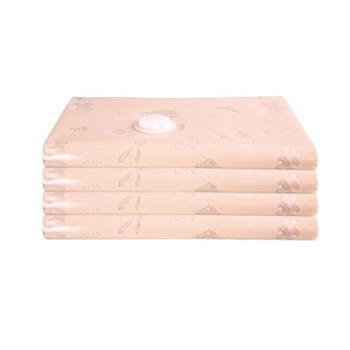 FaSoLa印花压缩袋加厚真空压缩袋一个 杏色 加大号110*80cm