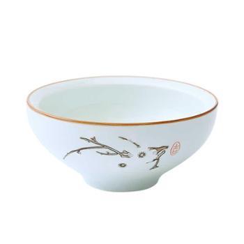 【买三送一】佰润居日式餐具陶瓷碗家用吃饭汤碗创意小碗个性米饭碗甜品碗蒸饭碗蒸蛋