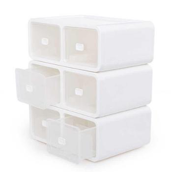FaSoLa抽屉式内衣收纳盒有格文胸内裤袜子塑料储物盒衣柜收纳箱