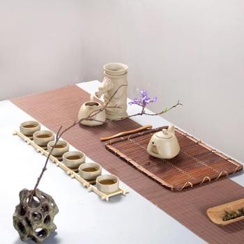 生活用品古陶全自动茶具套装家用简约中式茶具