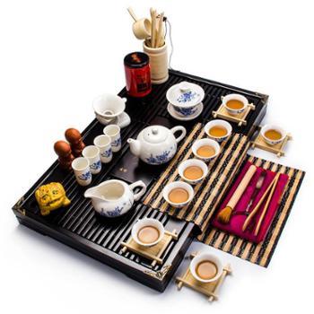 生活用品 陶 瓷功夫茶具套装整套特价茶具礼品茶杯
