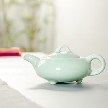 青瓷陶瓷功夫茶具 一壶六杯套装