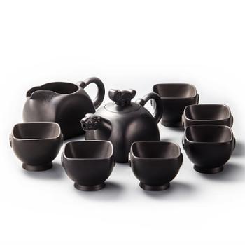 虎啸紫砂、大富紫砂功夫茶具
