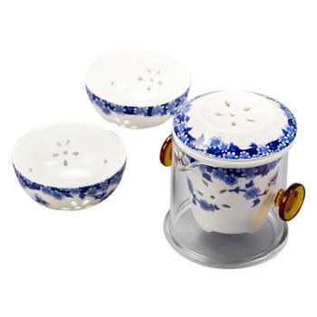 旅行茶具套装 快客杯 一壶二杯飘逸杯