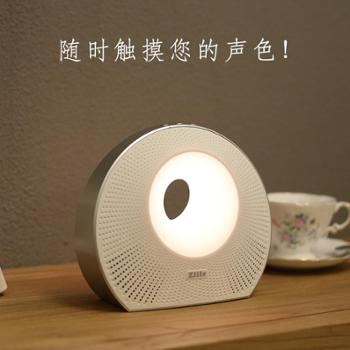 ZIILE 蓝牙音响 智能无线音箱APP创意情感七彩LED灯迷你便携户外