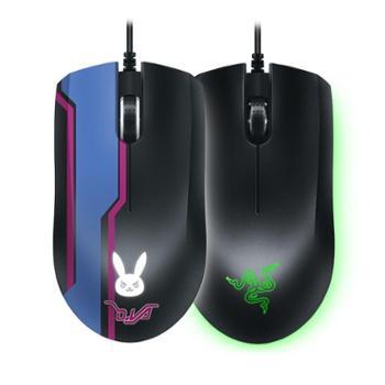Razer/雷蛇狂蛇精英版RGB台式电脑有线游戏鼠标D.Va电竞CF吃鸡宏