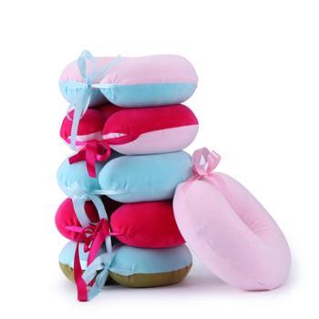 oukk欧康家纺 天然乳胶枕头 U型枕-标准款 休闲办公系列 一个装