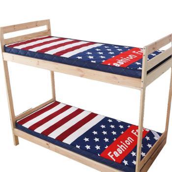 oukk欧康家纺学生床垫法莱绒1.2m宿舍床垫上下铺床褥子4D透气床垫