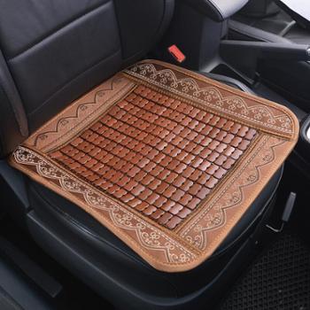 卡饰社(Carsetcity)竹片凉垫汽车坐垫夏季座垫座套通用型CS-83091棕色