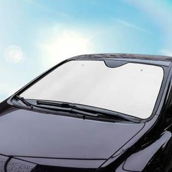 卡饰社(Carsetcity)遮阳挡加厚菱形七件套全车降温太阳挡CS-83089银色通用型