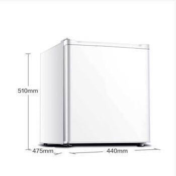 奥马(Homa)46升单门小型电冰箱迷你保鲜节能宿舍家用白色BC-46A