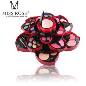 MISS ROSE 大梅花彩妆盒 旋转眼影盘自然性感彩妆系列