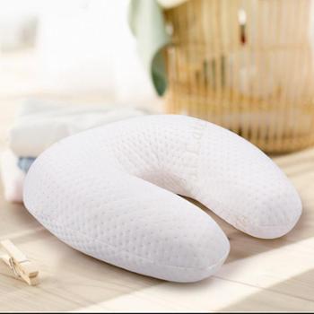 凯诗风尚 泰国纯天然乳胶枕头U型枕头办公车载保健护颈午睡枕