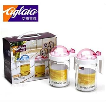 艾格莱雅玻璃魔幻油壶调味罐两件套CS/L2活动促销两件套活动专用