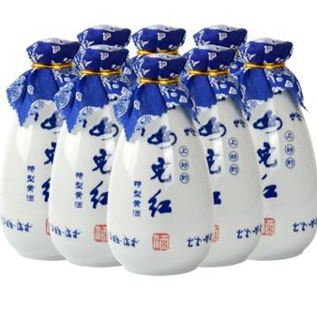 女儿红绍兴黄酒糯米酒花雕酒整箱8瓶半甜型黄酒玉液琼浆