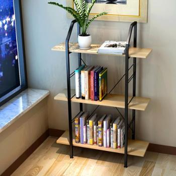 蔓斯菲尔书架 简易置物架环保书桌书架组合简约花架特价小架子