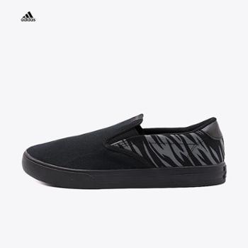 Adidas阿迪达斯男子2018春季低帮一脚穿懒人鞋运动休闲板鞋DB1772