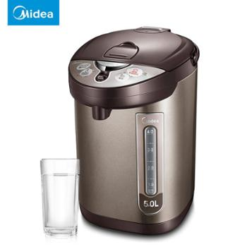 Midea/美的电热饮水机电热水瓶烧水壶保温家用全自动烧开水壶304不锈钢家用电器