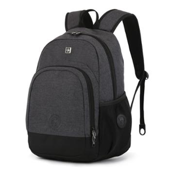 瑞士双肩包男女中学生书包大容量运动休闲背包15寸电脑包旅行包潮