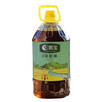 【鹮宝实业】小机压榨特级浓香型菜籽油5L