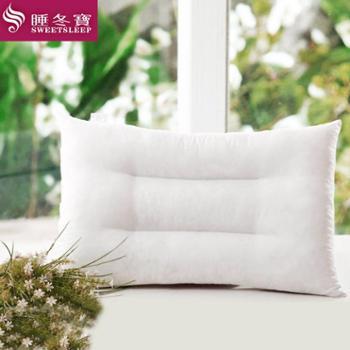 睡冬宝柔软舒适 呵护颈椎 缓解压力 姿彩人生助眠枕头-(数量有限、先到先得)