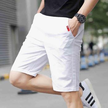 夏天韩版短裤男士运动休闲5五分裤学生七分薄宽松沙滩裤中裤子潮2
