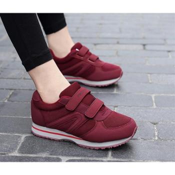 健步鞋春夏女鞋中老年人软底运动防滑减震宽松妈妈旅游休闲老人鞋