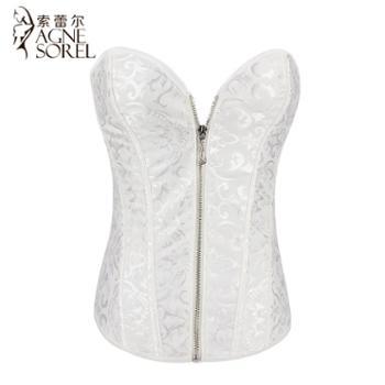 婚纱薄款塑身衣内衣宫廷美体束腰收腹提臀塑形束身衣上衣女