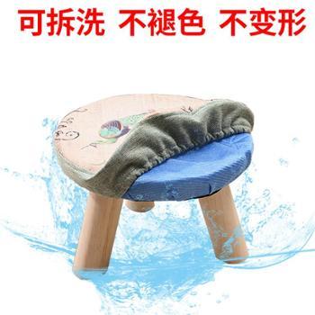 成人布艺换鞋凳小板凳小凳子家用椅子软面矮凳茶几凳圆凳沙发凳