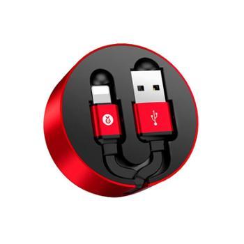 毕亚兹苹果数据线K35约1米XsMax/XR/X/8/7手机快充充电器线USB电源线