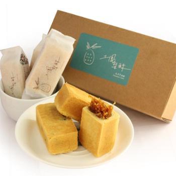 毛老爹台湾进口特产美食土凤梨酥手工传统糕点 10入500g 礼盒包装